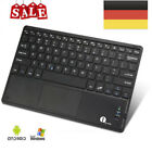 1byone Wireless Kabellose Bluetooth Tastatur Drahtlose Touchpad Tablet Keyboard