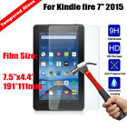 Tempered Glass 9H Screen Protector For Amazon Kindle fire 7 2015 5th Generation