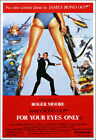 For Your Eyes Only Movie Poster Print - 1981 - Action - 1 Sheet Artwork Bond 007 $21.23 CAD on eBay
