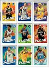 2018 19 Hoops HOLIDAY WINTER SNOWFLAKE The Pulse Insert You Pick CURRY SIMMONS +