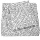 Sweet Home Collection 1800 Count Gray Paisley Print 4 Piece Microfiber Sheet Set image