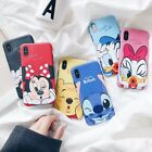 Внешний вид - Cute Disney Pooh Mickey Minnie Soft Matte Slim TPU Case iPhone 6 7 8 X XR XS Max