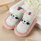 New Baby Boys Girls Cartoon Ears Floor Socks Anti-Slip Step Shoes Socks Boot VS