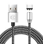 UGI 360°Round Cable Magnetic Charger Cable w/ LED Light - Samsung S8 S9 in UK