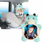 US Wide View Rear Adjustable Safety Seat Car Back Mirror Headrest Mount For Baby