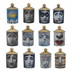 Fornasetti Candle Holder Diy Handmade Candles Jar Candy Jewerlly Storage Box