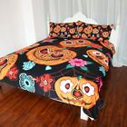 Cartoon Pumpkin Bedding Set Duvet Cover Bedclothes For Halloween Home Textiles