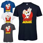 Danger Mouse® Character Mens T-Shirt - Officially Licensed Top Retro Cartoon Tee