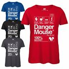 Danger Mouse® 100% Secret Ladies T-Shirt - Officially Licensed Top Retro Tee