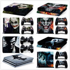 The JOKER Pattern PS4 /PS4 Pro /PS4 Slim Decal Skin Sticker Console Controllers