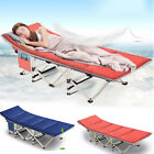 Portable Outdoor Folding Camping Bed Military Cot Sleep Hike Travel Office Couch