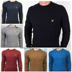 Kyпить NEW LYLE AND SCOTT LONG SLEEVE CREW NECK CABLE JUMPER FOR MEN на еВаy.соm