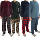 Внешний вид - 2pc Joe Boxer Men's Fleece Pajamas Set - Soft Shirt, Warm Pants