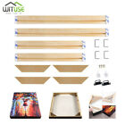 Photo Picture Frames Wood Stretcher Poster Frame Gallery Wall Art Painting Set