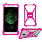 For Blackview/Oukitel/Xgody/NUU- Silicone Case Cover Skin Ring Holder Shockproof