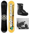 "NEW WESTIGE ""APACHE"" SNOWBOARD, BINDINGS, BOOTS PACKAGE - 157cm"