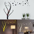 3d Flower Shape Mirror Wall Sticker Diy Decal Mural Home Decor Removable New N3
