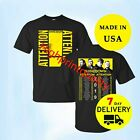 Shinedown Attention Attention Concert Tour 2019 Men T Shirt Black Size S-3XL image