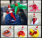 Elf on a Shelf Inflatable Pool Float - Funny Scout Elf prop - Mini Swimming Ring $7.95 USD on eBay