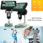 "600X 4.3"" LCD 3.6MP Electronic Digital Video Microscope for Mobile Phone Repair."