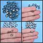 Stainless Steel Charms Loose Spacer Beads for DIY Crafts Jewelry Accessories