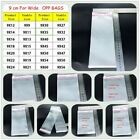 9cm Clear Cellophane Cello Bags Plastic OPP Card Display Self Adhesive Peel Seal