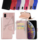 Case For Iphone 5s 5 Se Cover Real Genuine Leather Flip Wallet