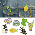 Lovely Cartoon Enamel Lapel Pin Corsage Brooch Gesture Palm Cactus Cat Sweater image