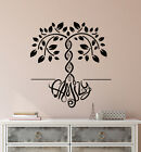 Vinyl Wall Decal DNA Family Tree Logo Word Home Interior Design Stickers 3301ig