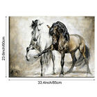 Horse Abstract Canvas Wall Art Painting Pictures Home Hanging Picture Decor Hot