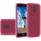 LG Stylo 4 TPU Case Skin Cover Slim Grip Transparent Clear