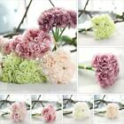 Artificial Hydrangea Bouquet Silk Peony Flower Wedding Bridal Party Home Decor ^