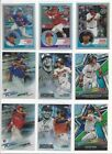 2018 TOPPS CHROME INSERTS ( STARS, HOF, ROOKIE RC'S ) - ALL LISTED - U PICK!!