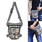 Metal Detector Camo Waist Bag Finds Pouch W/ Shoulder Belt Outdoor Detecting Acc