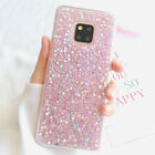 For Huawei Mate 20 Lite Pro P20 Luxury Bling Glitter Shockproof Soft Case Cover
