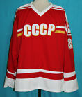 ARTURS IRBE RUSSIA HOCKEY JERSEY USSR CCCP NEW SEWN ANY SIZE