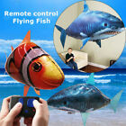 Remote Control Flying Shark Clownfish RC Radio Air Swimmer Inflatable Blimp Gift