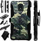 LUXGUARD For Onyx / Feller / Miro Phone Case Holster Cover CAMO CROSSHATCH GREEN