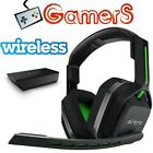 ASTRO BY LOGITECH A20 WIRELESS GAMING HEADSET W/MIC BLUE GREEN PC XBOX MAC