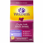 Wellness Complete Health Natural Small Breed Healthy Weight Recipe Dry Dog Food