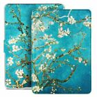 Auto Wake/Sleep Case For Kindle Paperwhite 1 2 3 4 Blossom Painting Cover Skin