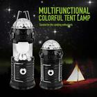 New Multi Functional Foldable Solar Camping Lamp Outdoor Rechargeable Lantern UP
