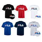 Fila Men's Short Sleeve Logo Graphic Crew Neck T-Shirt