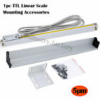 2/3 Axis DRO Digital Readout Display 5µm TTL Linear Scale for Bridgeport Milling