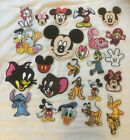 New! Disney/Cartoon Character Iron on embroidery Patches 42 designs £1.99 GBP on eBay