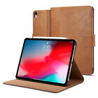 "iPad Pro 11"", iPad Pro 12.9"" Spigen® [Stand Folio] Leather Shockproof Cover Case"