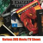 Clearance DVD Movies & TV shows - Pick a Title - Buy 3 Get 1 Free $3.0 AUD on eBay