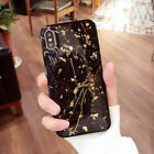 For iPhone 8 7 Plus XS Max XR Marble Sho...