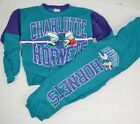 Vintage 1993 Charlotte Hornets Youth Sweatsuit Shirt Pants Set 4/5 7 8 10 12 14