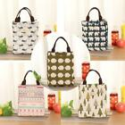 Insulation Package Portable Folding Waterproof Canvas Lunch Rich Bags Storage